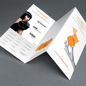 Brochure Hexagone MockUp
